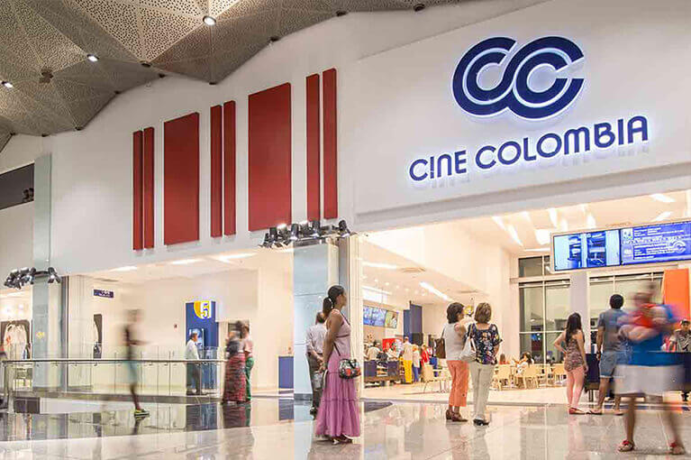Cine Colombia Plaza Bocagrande