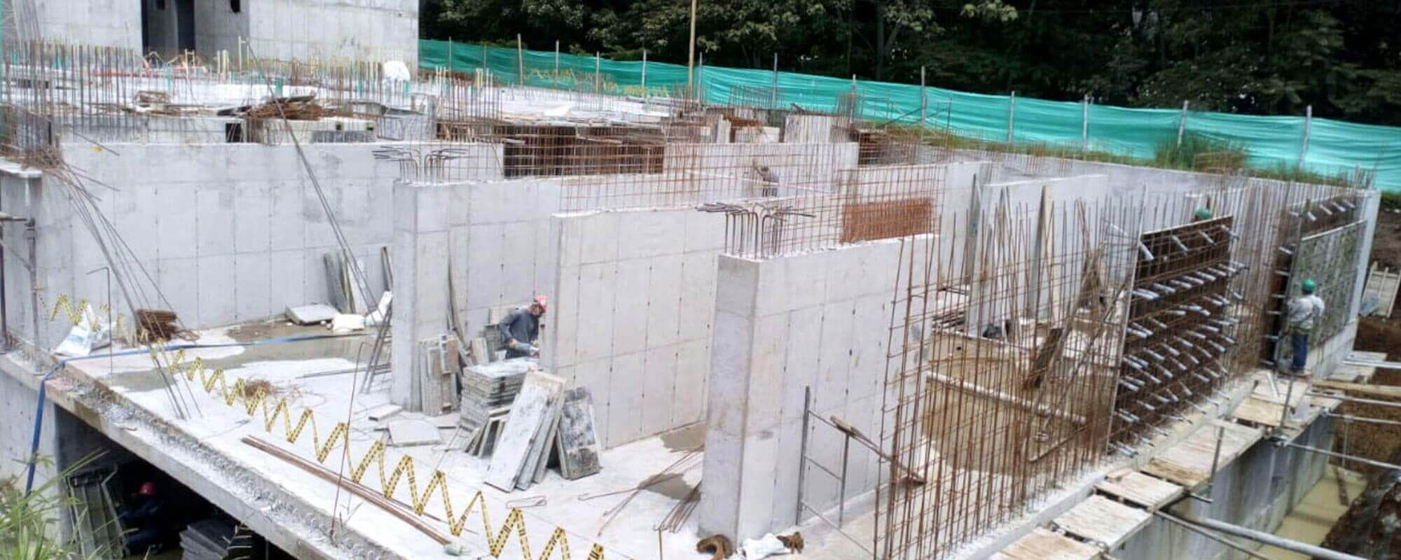 Columns apartment tower Ocobo residential project in Ibague December 2018