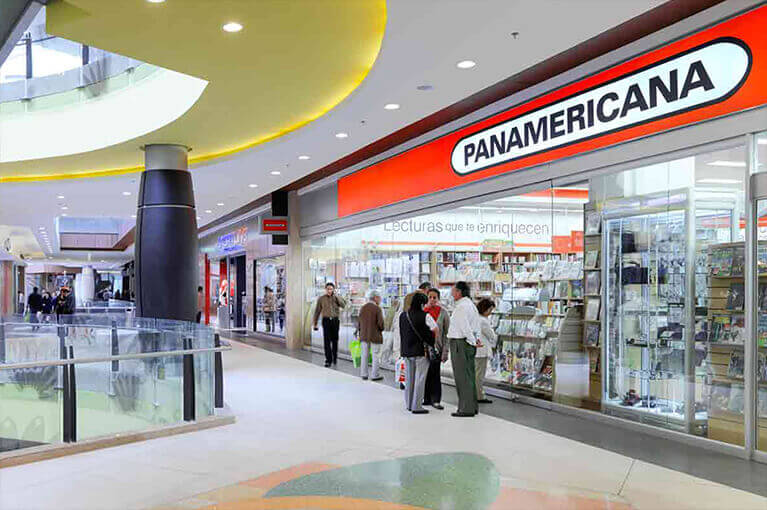 Panamericana at Titán Plaza Shopping Center commercial project in Bogota