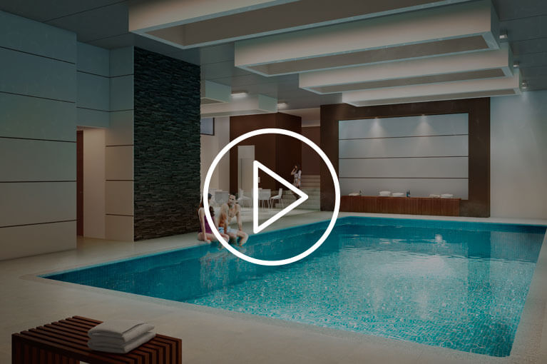 Promotional video of Arboleda del Parque residential project in Bogota