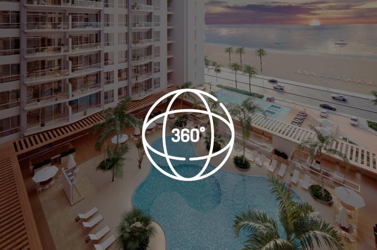 Video 360  model apartment of Vivanti Mar project in Cartagena