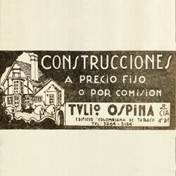 History of the dissolution of Tulio Ospina y Cia