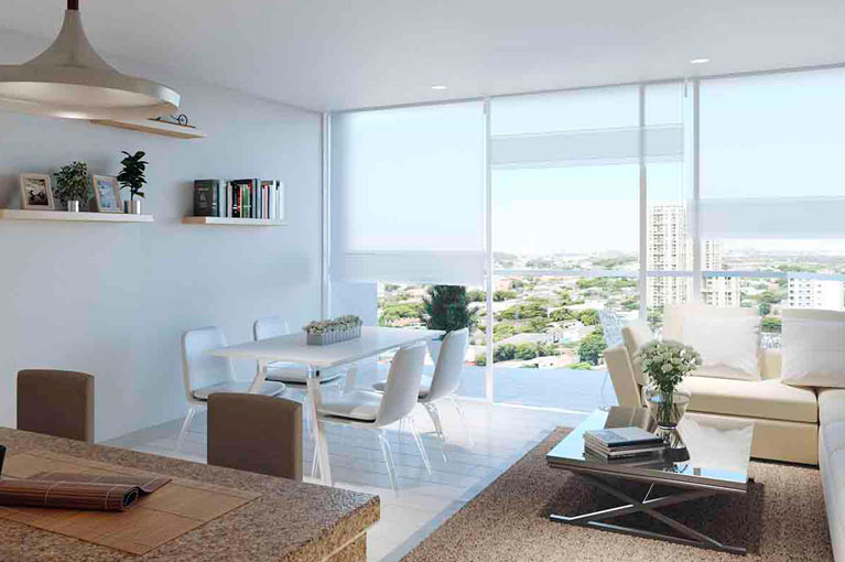 Room in apartment at Vivanti Mar residential project in Cartagena