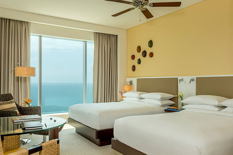 Double bedroom apartment at Hyatt Regency Cartagena residential project