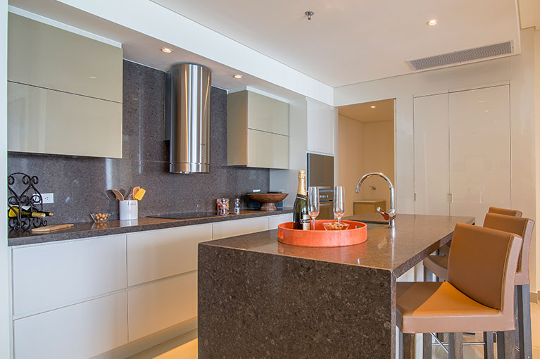 Kitchen edge apartment at Hyatt Regency Cartagena residential project