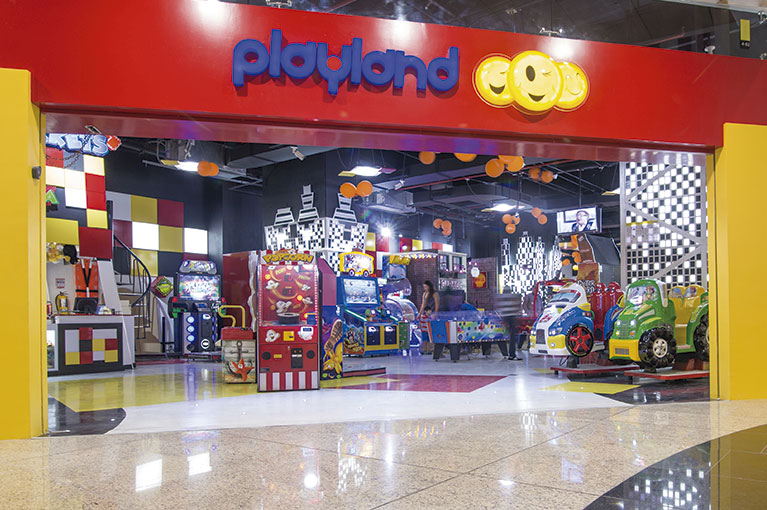 Playland at Plaza Bocagrande Shopping Center commercial project in Cartagena