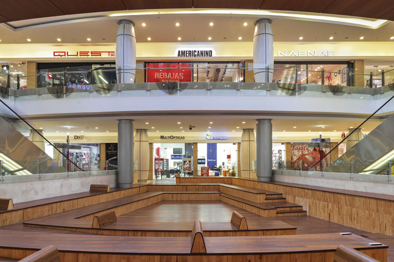 Shops at Titán Plaza Shopping Center commercial project in Bogota