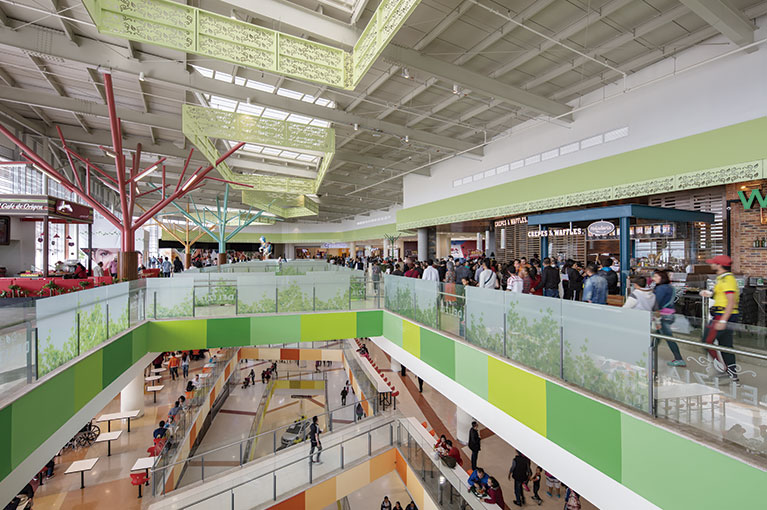 Third floor at Ventura Terreros Shopping Center commercial project in Soacha