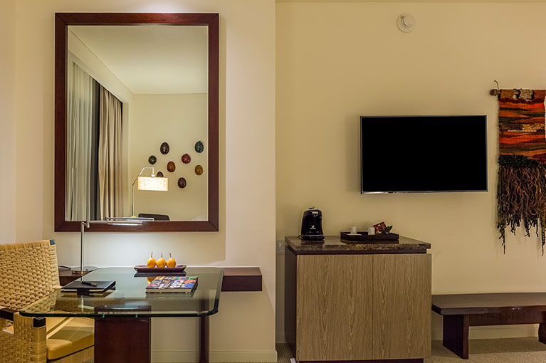 TV area apartment at Hyatt Regency Cartagena residential project