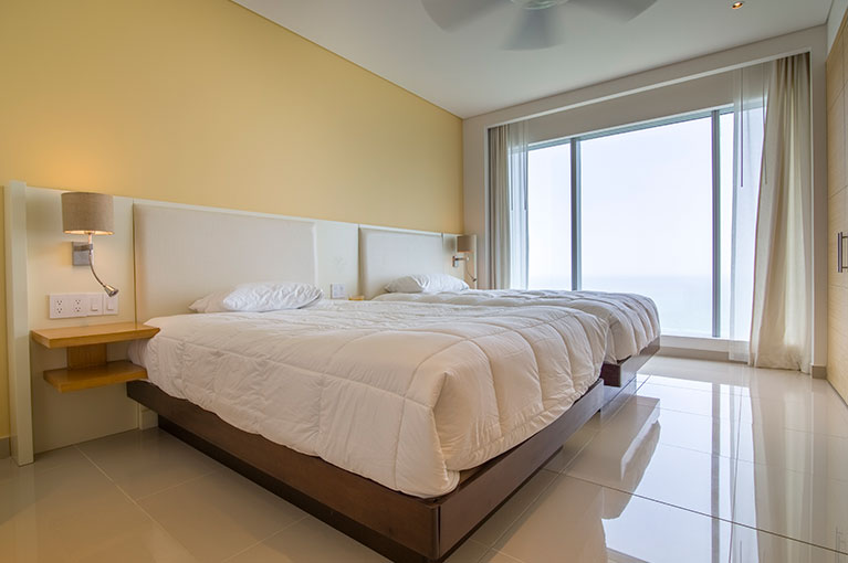 Two-bed room apartment at Hyatt Regency Cartagena residential project