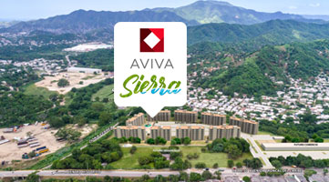 Strategic location of the Aviva Sierra housing project in Santa Marta