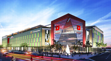 Ventura facade Cartagena Shopping Center commercial project in the Caribbean