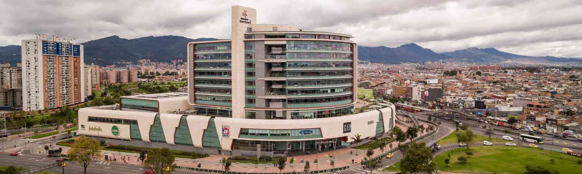 Titán Plaza is a Business Center project located in Bogota