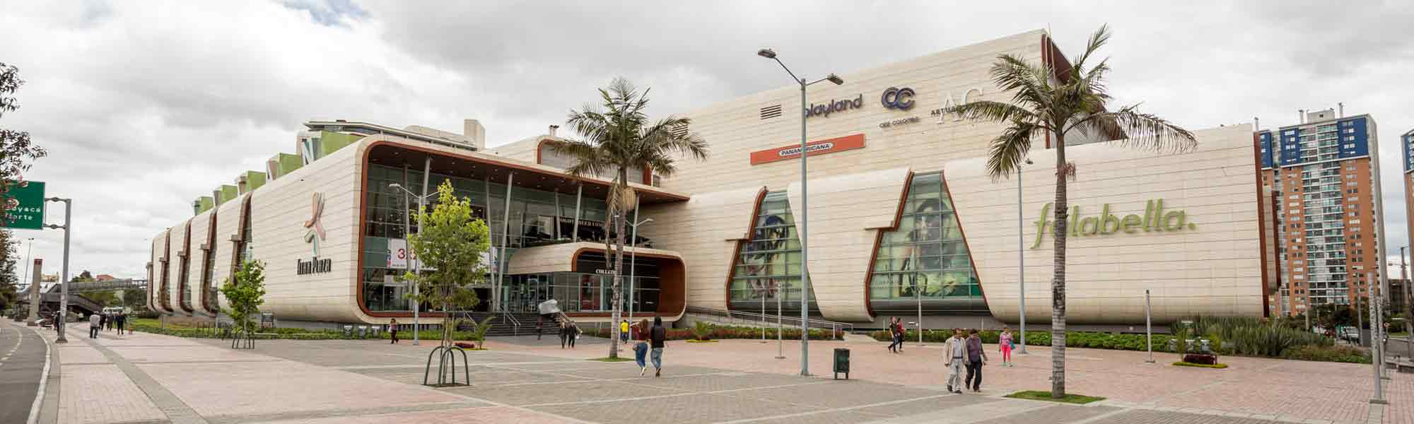 Titán Plaza Shopping Center is a commercial project located in Bogota